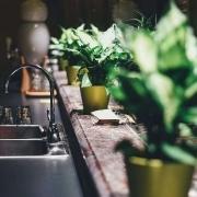 Küche ohne Kalk